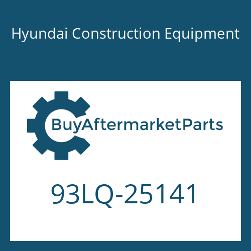 Hyundai Construction Equipment 93LQ-25141 - DECAL-MODEL NAME