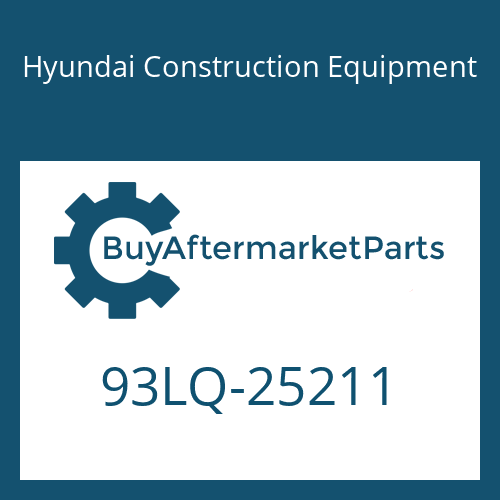 Hyundai Construction Equipment 93LQ-25211 - DECAL-MODEL NAME