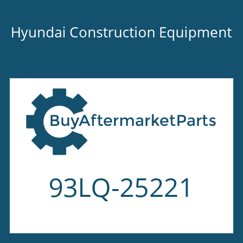 Hyundai Construction Equipment 93LQ-25221 - DECAL-MODEL NAME RH