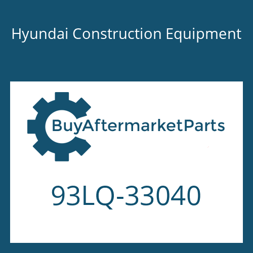 Hyundai Construction Equipment 93LQ-33040 - MANUAL-OPERATOR