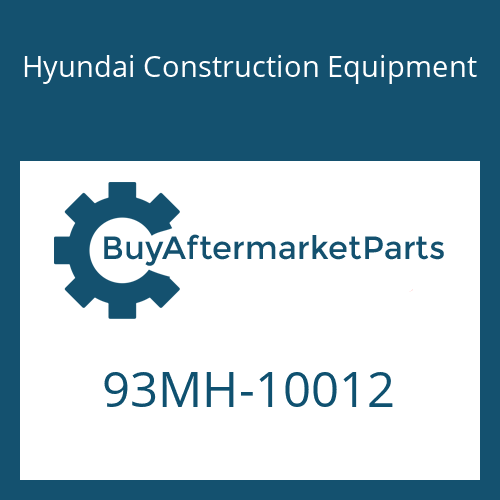 Hyundai Construction Equipment 93MH-10012 - DECAL-MODEL NAME