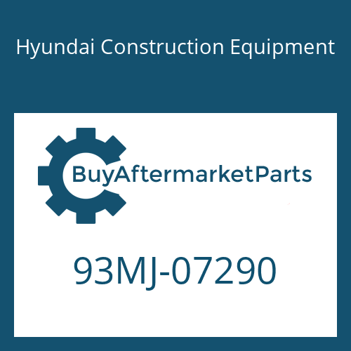 Hyundai Construction Equipment 93MJ-07290 - DECAL-CONTROL