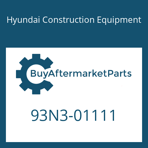 Hyundai Construction Equipment 93N3-01111 - DECAL KIT-B