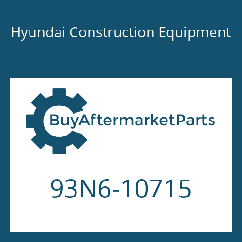 Hyundai Construction Equipment 93N6-10715 - DECAL-SERVICE INSTRUCTION