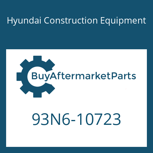 Hyundai Construction Equipment 93N6-10723 - DECAL-INSTRUCTION