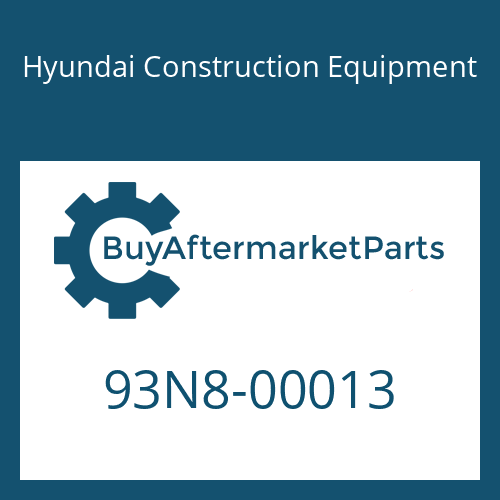 Hyundai Construction Equipment 93N8-00013 - DECAL KIT-A