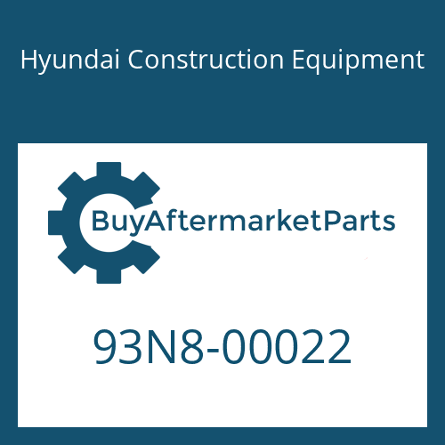 Hyundai Construction Equipment 93N8-00022 - DECAL KIT-A