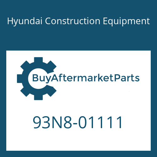 Hyundai Construction Equipment 93N8-01111 - DECAL KIT-B