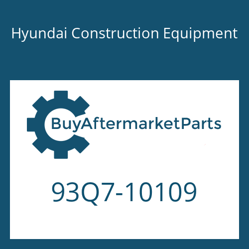 Hyundai Construction Equipment 93Q7-10109 - DECAL KIT-B