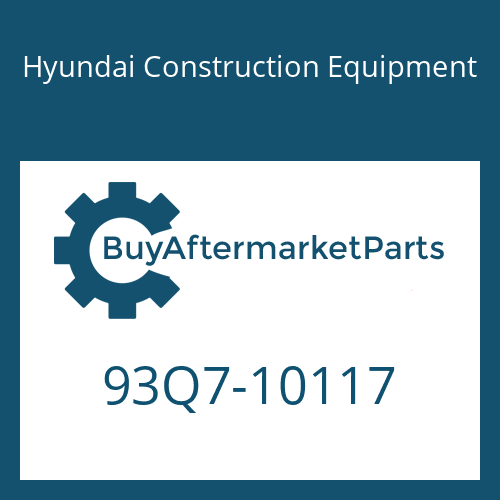 Hyundai Construction Equipment 93Q7-10117 - DECAL KIT-B