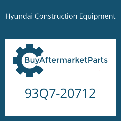 Hyundai Construction Equipment 93Q7-20712 - DECAL-SERVICE INSTRUCTION