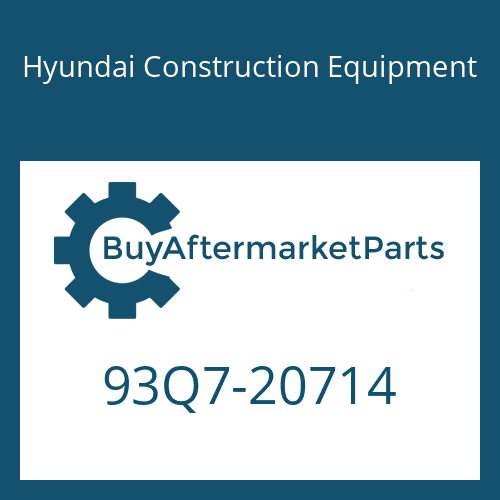 Hyundai Construction Equipment 93Q7-20714 - DECAL-SERVICE INSTRUCTION