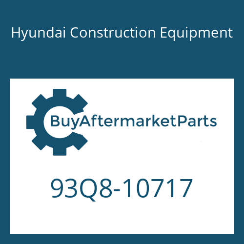 Hyundai Construction Equipment 93Q8-10717 - DECAL-SERVICE INSTRUCTION