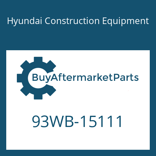 Hyundai Construction Equipment 93WB-15111 - DECAL-MODEL NAME LH