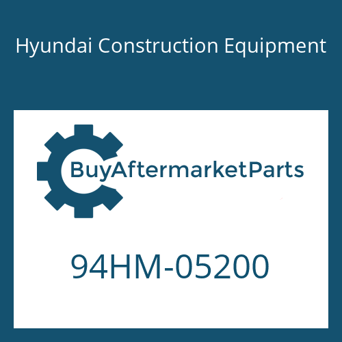 Hyundai Construction Equipment 94HM-05200 - DECAL-CAPACITY