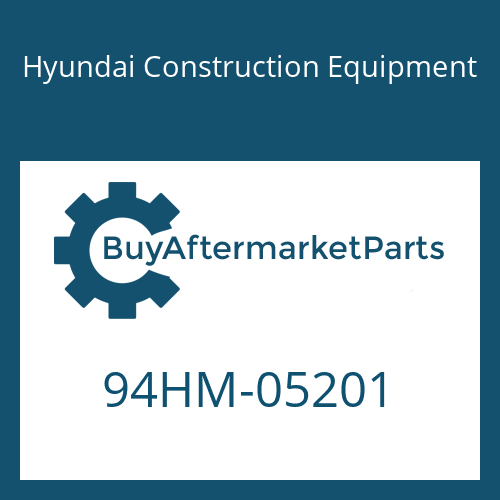 Hyundai Construction Equipment 94HM-05201 - DECAL-CAPACITY
