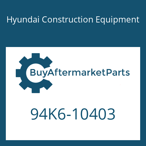 Hyundai Construction Equipment 94K6-10403 - DECAL KIT-B