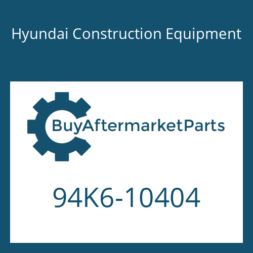 Hyundai Construction Equipment 94K6-10404 - DECAL KIT-B