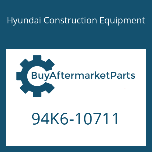 Hyundai Construction Equipment 94K6-10711 - DECAL-SERVICE INSTRUCTION