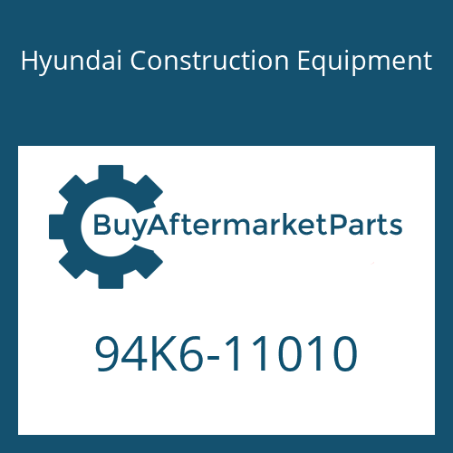 Hyundai Construction Equipment 94K6-11010 - DECAL-MODEL NAME LH