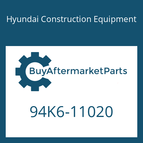 Hyundai Construction Equipment 94K6-11020 - DECAL-MODEL NAME LH