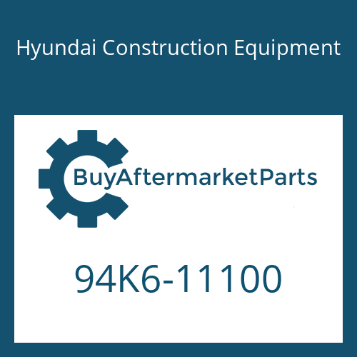 Hyundai Construction Equipment 94K6-11100 - DECAL KIT-B