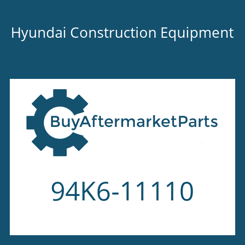 Hyundai Construction Equipment 94K6-11110 - DECAL-MODEL NAME RH