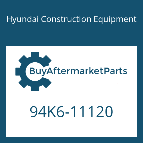 Hyundai Construction Equipment 94K6-11120 - DECAL-MODEL NAME RH