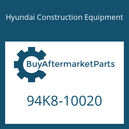 Hyundai Construction Equipment 94K8-10020 - DECAL-MODEL NAME-LH