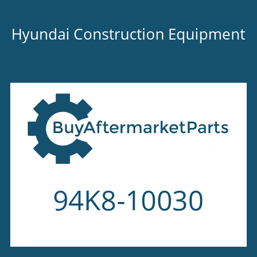 Hyundai Construction Equipment 94K8-10030 - DECAL-MODEL NAME-LH