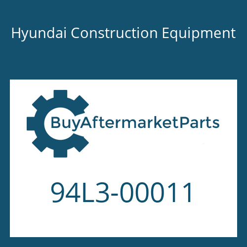 Hyundai Construction Equipment 94L3-00011 - DECAL KIT-A