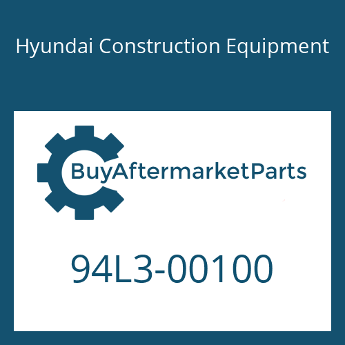 Hyundai Construction Equipment 94L3-00100 - DECAL-NOISE