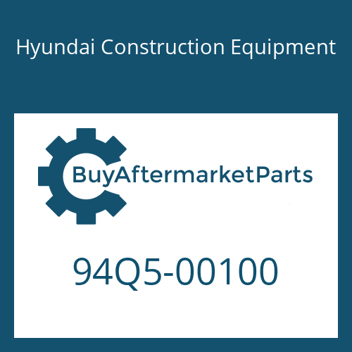Hyundai Construction Equipment 94Q5-00100 - DECAL KIT-A