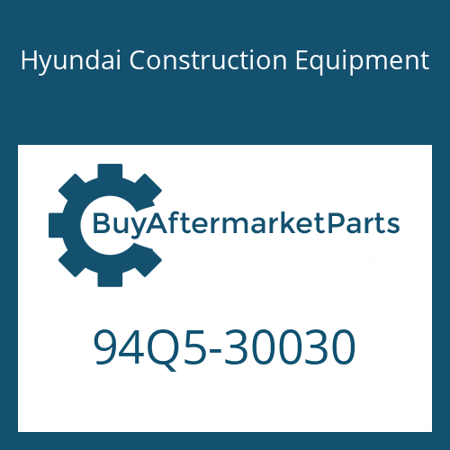 Hyundai Construction Equipment 94Q5-30030 - CATALOG-PARTS