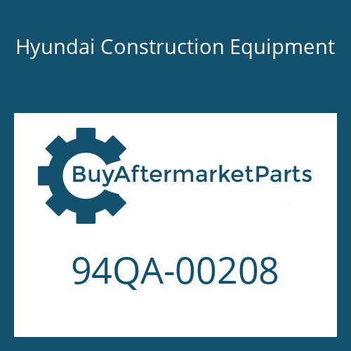 Hyundai Construction Equipment 94QA-00208 - DECAL KIT-B