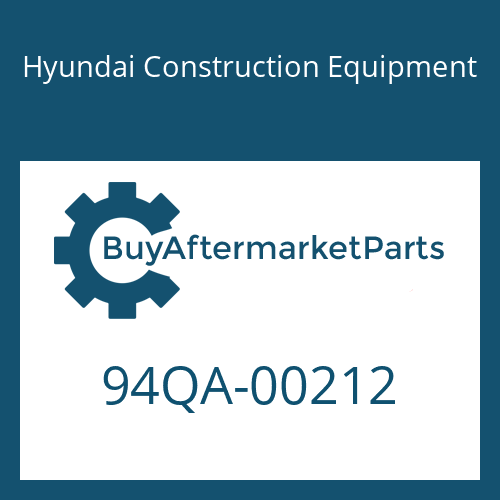 Hyundai Construction Equipment 94QA-00212 - DECAL KIT-B