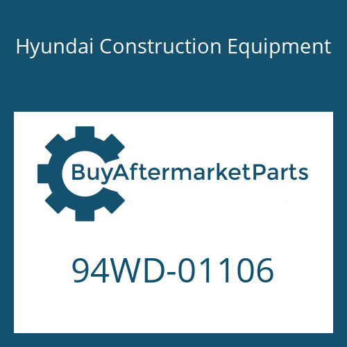 Hyundai Construction Equipment 94WD-01106 - Decal Kit(B)