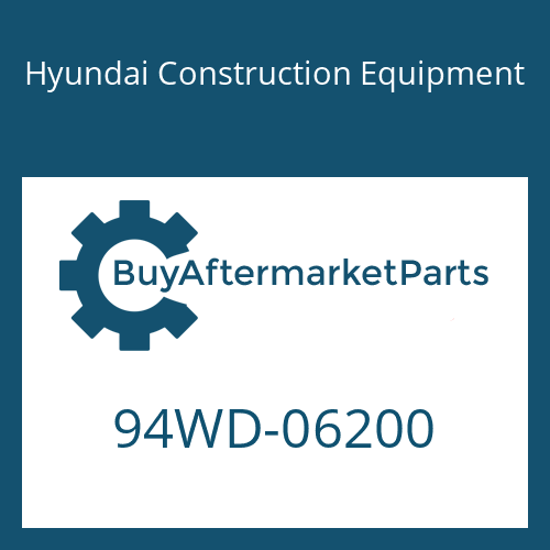 Hyundai Construction Equipment 94WD-06200 - DECAL KIT-B