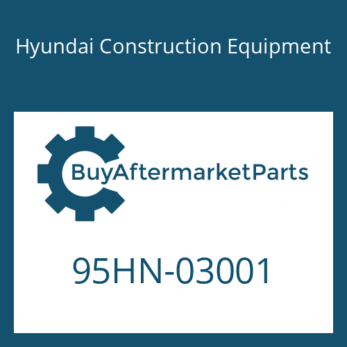 Hyundai Construction Equipment 95HN-03001 - DECAL-EQUIP SPEC