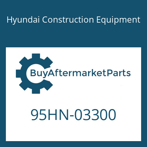 Hyundai Construction Equipment 95HN-03300 - DECAL-SPECSHEET