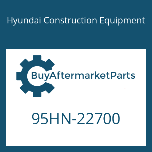 Hyundai Construction Equipment 95HN-22700 - DECAL-MODEL NAME