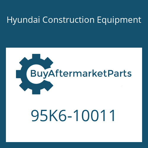 Hyundai Construction Equipment 95K6-10011 - DECAL-MODEL NAME LH