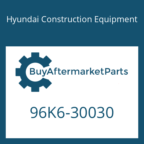 Hyundai Construction Equipment 96K6-30030 - CATALOG-PARTS