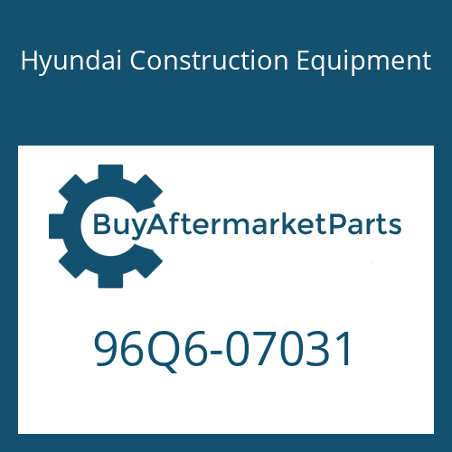 Hyundai Construction Equipment 96Q6-07031 - DECAL-REFERENCE LH