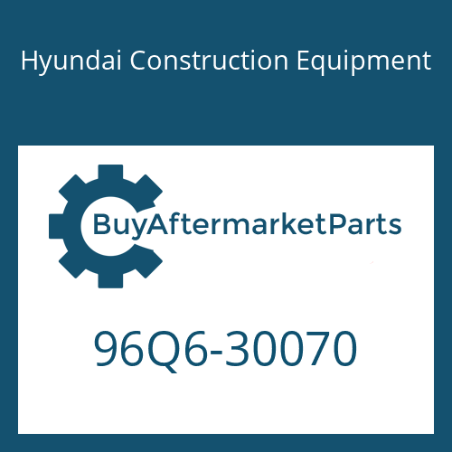 Hyundai Construction Equipment 96Q6-30070 - CATALOG-PARTS