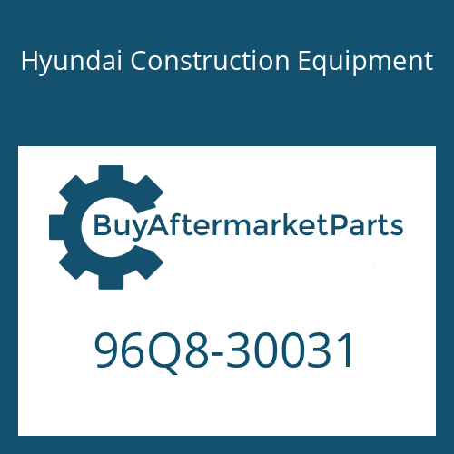 Hyundai Construction Equipment 96Q8-30031 - CATALOG-PARTS