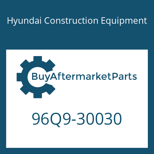 Hyundai Construction Equipment 96Q9-30030 - CATALOG-PARTS