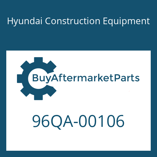 Hyundai Construction Equipment 96QA-00106 - DECAL KIT-B