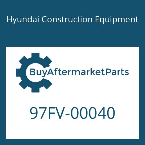 Hyundai Construction Equipment 97FV-00040 - DECAL-MODEL NAME