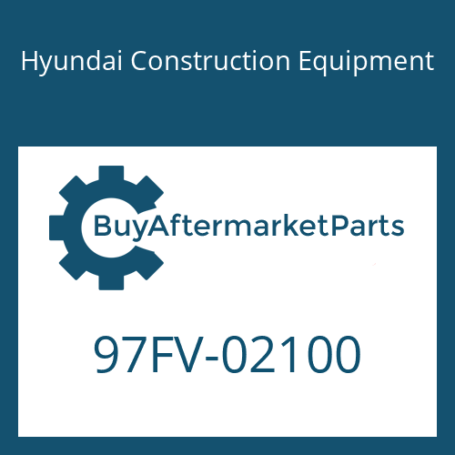 Hyundai Construction Equipment 97FV-02100 - DECAL-MODEL NAME